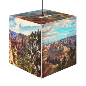 Rare and Beautiful CUBE LAMP 🤩 US National parks best 5 x Images come to LIFE - Yunque Store