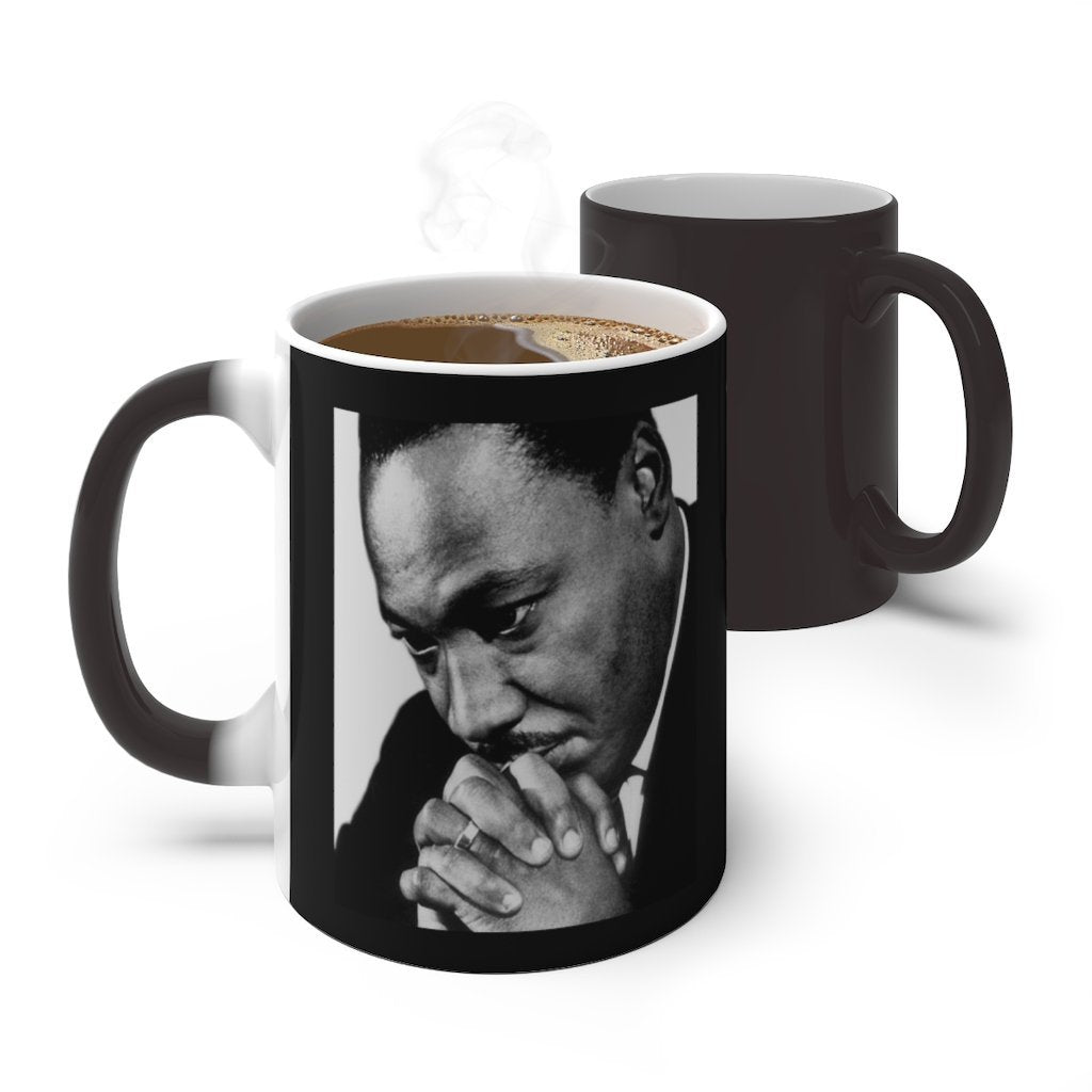 Sale - Color Changing Mug - In Homage of Dr. Martin Luther King Jr. - Nobel Peace prize - 1964 - Yunque Store