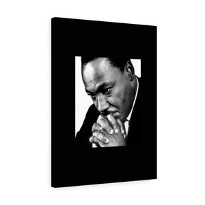 Sale MLK Day - Canvas Gallery Wraps - In Homage of Dr. Martin Luther King Jr. - Nobel Peace prize - 1964 Canvas Printify