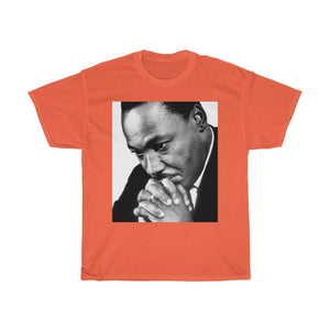 Sale MLK Day - Unisex Heavy Cotton Tee - In Homage of Dr. Martin Luther King Jr. - Nobel Peace prize - 1964 T-Shirt Printify