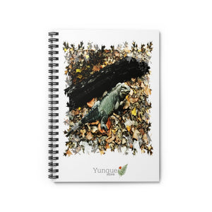SALE - Spiral Notebook - Ruled Line - Mona Island native iguana - remote Puerto Rico paradise - Yunque Store