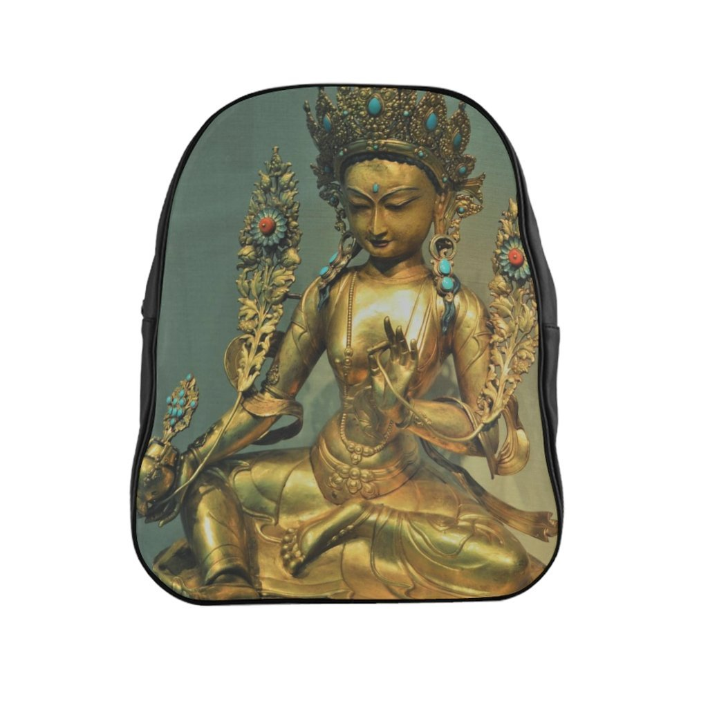 School Backpack - The Goddes Tara of Infinite and deep Compassion and Wisdom - Yunque Store
