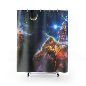 Shower Curtains - Awesome nebula composition - Hubble and NASA - Yunque Store