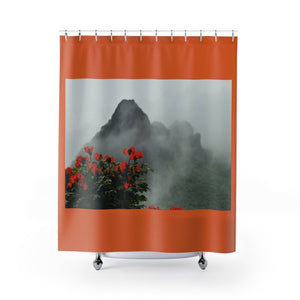 Shower Curtains - Awesome view from Yokahu tower after storm - El Yunque rain forest PR - Yunque Store