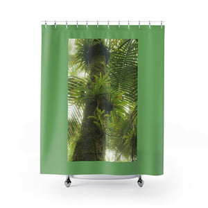 Shower Curtains - Bromeliads / Bromelias - in El Yunque rain forest PR - Yunque Store
