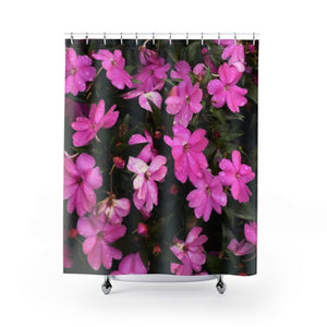 Shower Curtains - Holy mountain flowers - Carite PR - Yunque Store