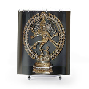 Shower Curtains - The ancient Goddess Shiva - symbol of the conquest of egotiosm - Yunque Store