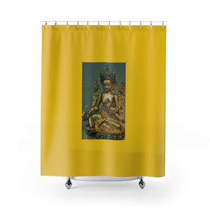 Shower Curtains - The Goddes Tara of Infinite and deep Compassion and Wisdom Home Decor Printify