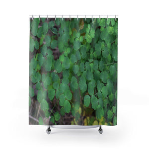 Shower Curtains - The small plants of El Yunque rainforest PR Home Decor Printify