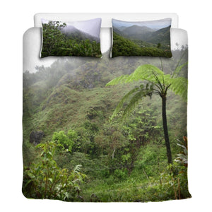 Sleep@Nature - 3 Pcs Beddings - High Mountain Views - Toro Negro rainforest Park Over 4,000 feet altitude - Highest in Puerto Rico - a view of paradise at home! - Yunque Store