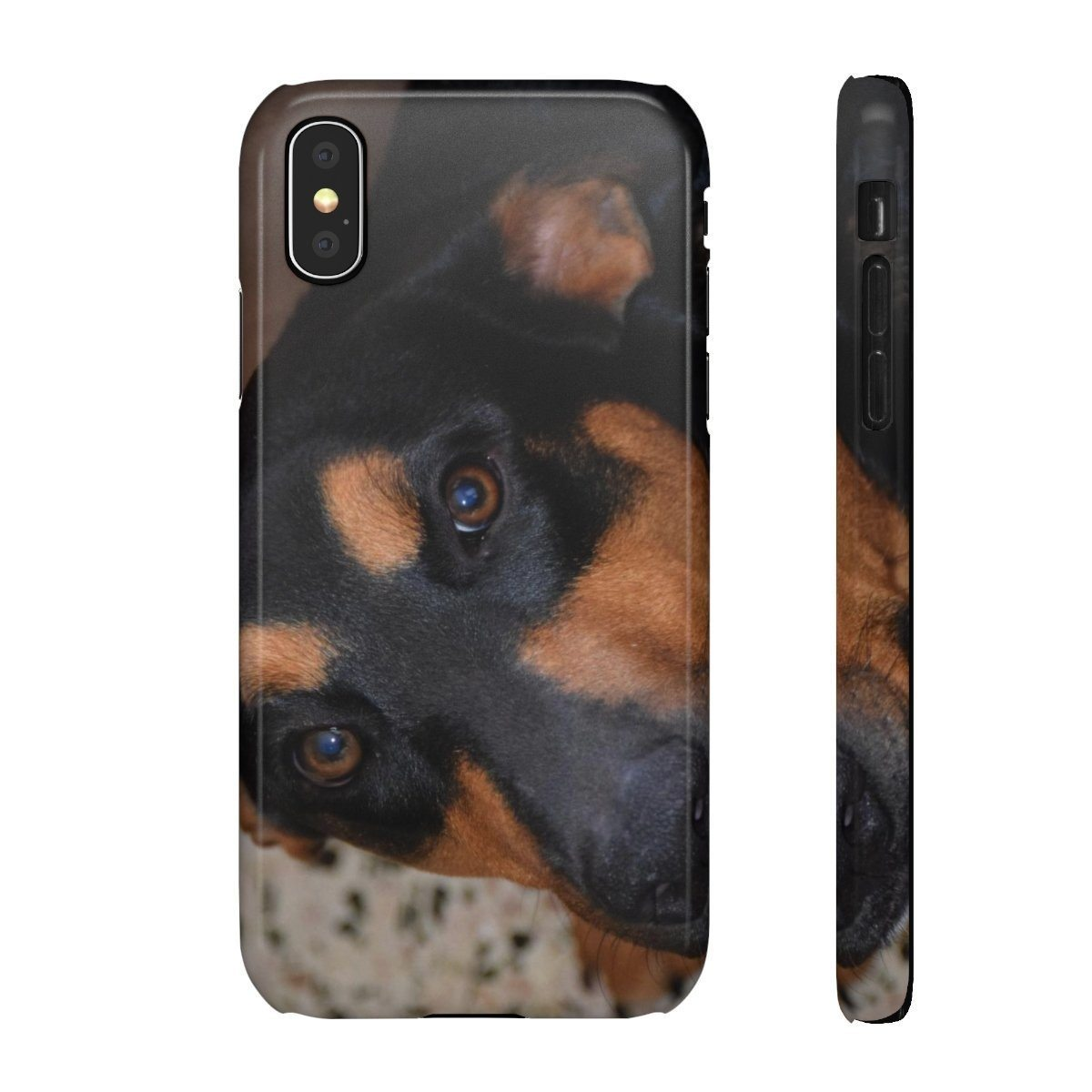 Snap Cases - Family PETS - The forest explorer dog Firo, that likes to EAT cell phones and TV controllers! Phone Case Printify