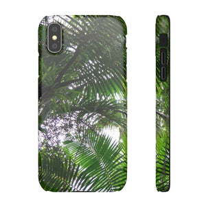 Snap Cases - Sierra palm forest Phone Case Printify