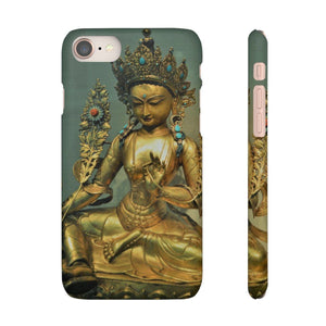 Snap Cases - The Goddes Tara of Infinite and deep Compassion and Wisdom Phone Case Printify
