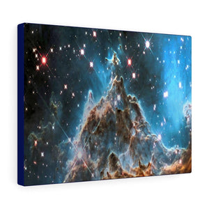 SPACE - Canvas Gallery Wraps - Monkey Head Nebula and stars by the Hubble space telescope - 051 - NASA - Yunque Store