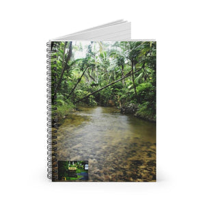 Spiral Notebook - Ruled Line - Rio Sababa river exploration Paper products Printify
