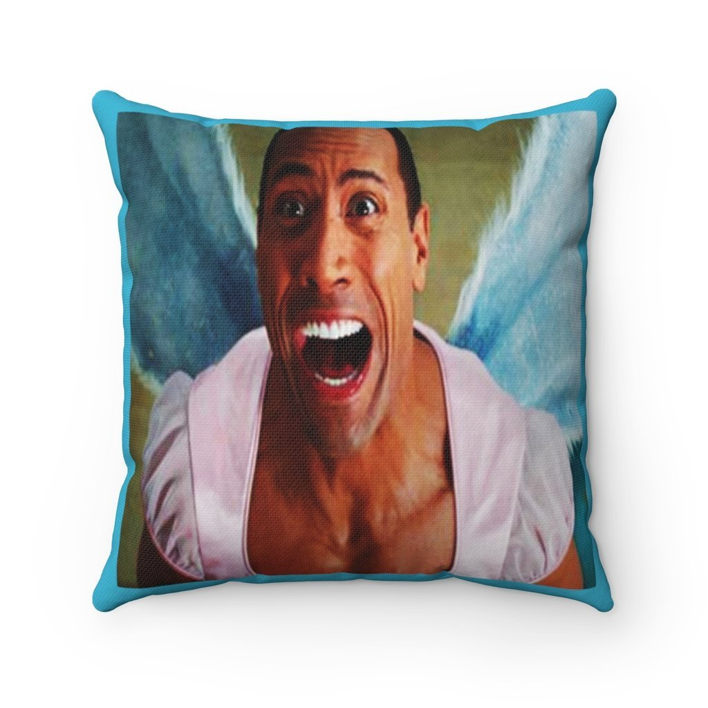 Spun Polyester Square Tooth Fairy Pillow - Fairy on back: YES I Believe in Tooth Fairy's and children too, tooth pillow personalized tooth - Yunque Store