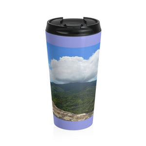 Stainless Steel Travel Mug - Peaks of - El Yunque rain forest PR - Yunque Store