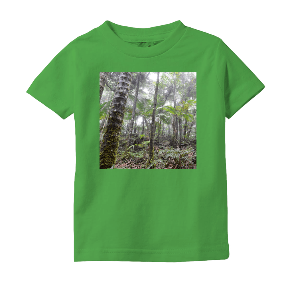 T-Shirts (Infant Sizes) - The cloud forest and view from a yunque peak - El Yunque PR AwsomeRainForest@Home