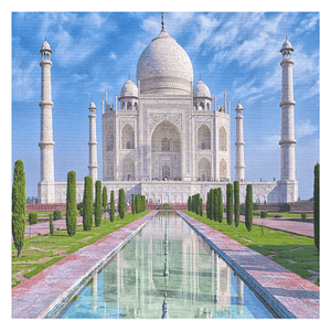 Tablecloths - The Unesco wonder in India - The Taj Mahal - a work of love for the kings wife - Yunque Store