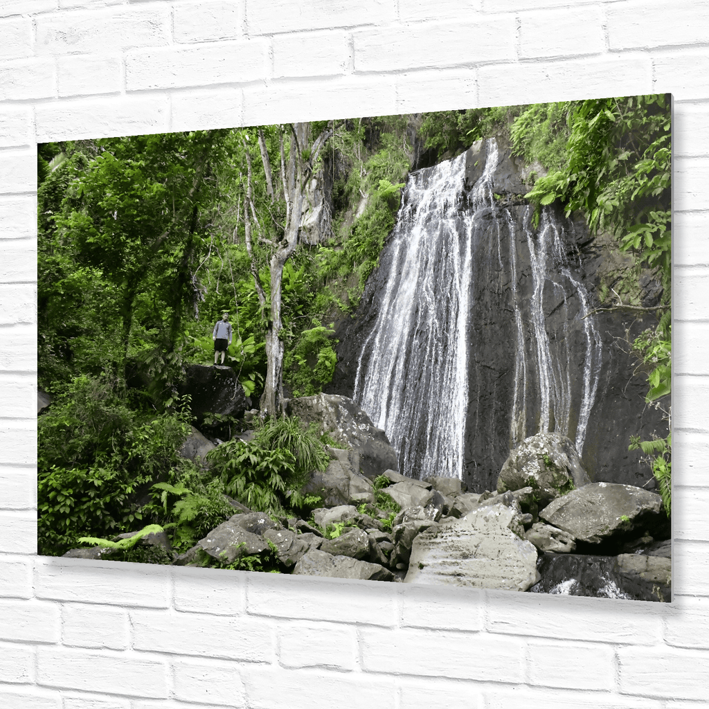 The famous La Coca Falls at the El Yunque National Park entrance on PR 191 - Puerto Rico - Yunque Store