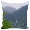 Throw Pillows - Rio Blanco falls in Rio Sabana 1 AwsomeRainForest@Home