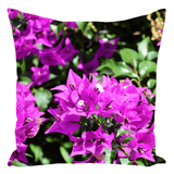Throw Pillows - Tropical flowers #01 AwsomeRainForest@Home