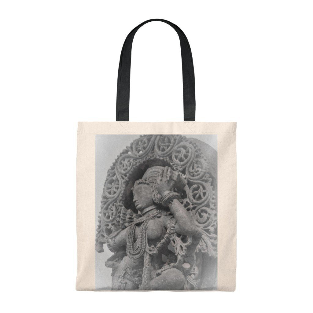 Tote Bag - Vintage - Hindi Goddess of Compassion and Energy - Yunque Store