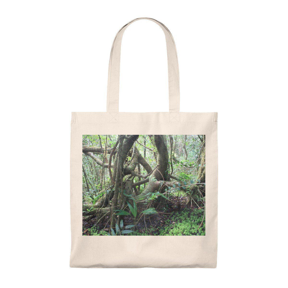 Tote Bag - Vintage - Tradewinds trail cloud forest - El Yunque rain forest PR Bags Printify