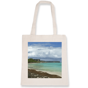 TOTEBAG - 100% ORGANIC COTTON - You can brag with this bag! - Remote mona island Puerto Rico - Yunque Store