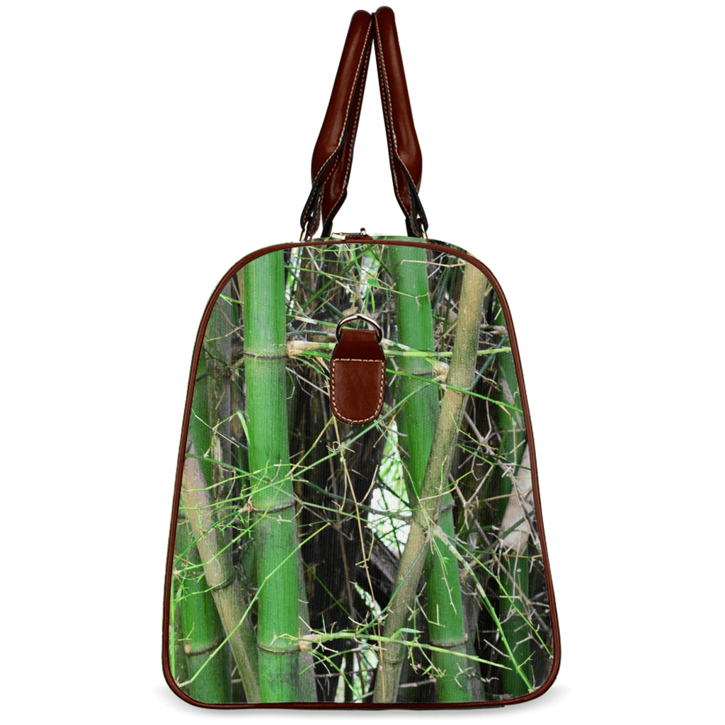 Travel Bags - Bamboo trunks in Rio Sabana park - El Yunque rain forest PR AwsomeRainForest@Home