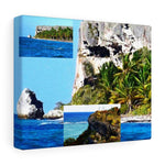 Truly Breathtaking Mona Island off Puerto Rico - the Galapagos of the Caribbean - Thrilling Pajaros beach Canvas Printify