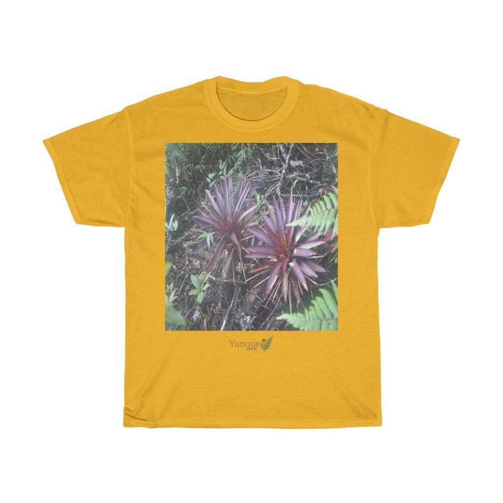 UK Print: GILDAN 5000 - Unisex Heavy Cotton Tee - Bring home the most remote, rarely seen, regions of the rainforest in Puerto Rico - El Toro Wilderness - Yunque Store