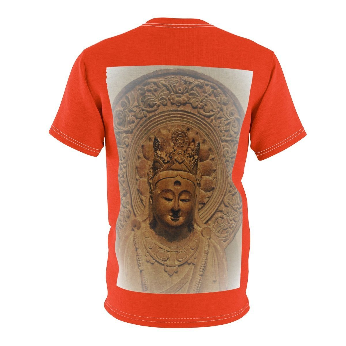 Unisex AOP Cut & Sew Tee - Buddha of Infinite and deep Compassion All Over Prints Printify