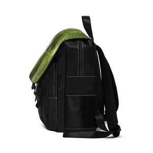 Unisex Casual Shoulder Backpack - Bromeliad forest EYNF Bags Printify