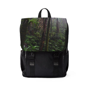Unisex Casual Shoulder Backpack - EYNF - Cloud forest Bags Printify
