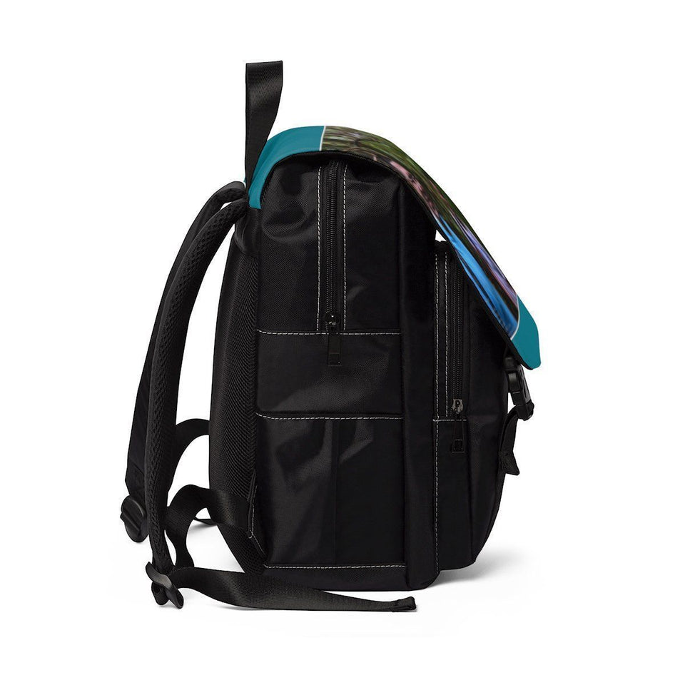 Unisex Casual Shoulder Backpack - EYNF - Exploration Rio Sabana Mige and Jose Bags Printify