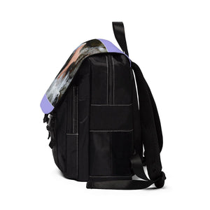 Unisex Casual Shoulder Backpack EYNF - Jose in the Mameyes river Bags Printify