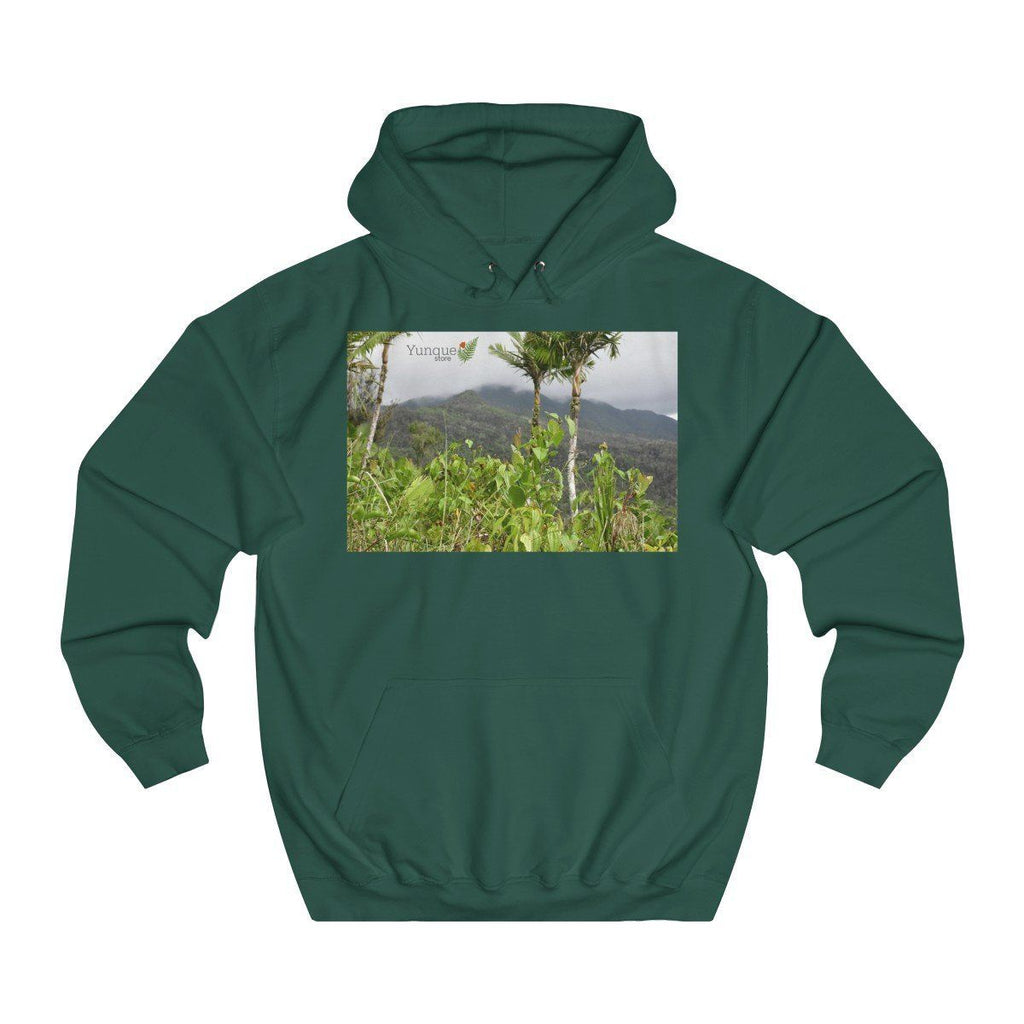 Unisex College Hoodie - Views of El Yunque rain forest in Puerto Rico - Printed in the Czech Republic Hoodie Printify