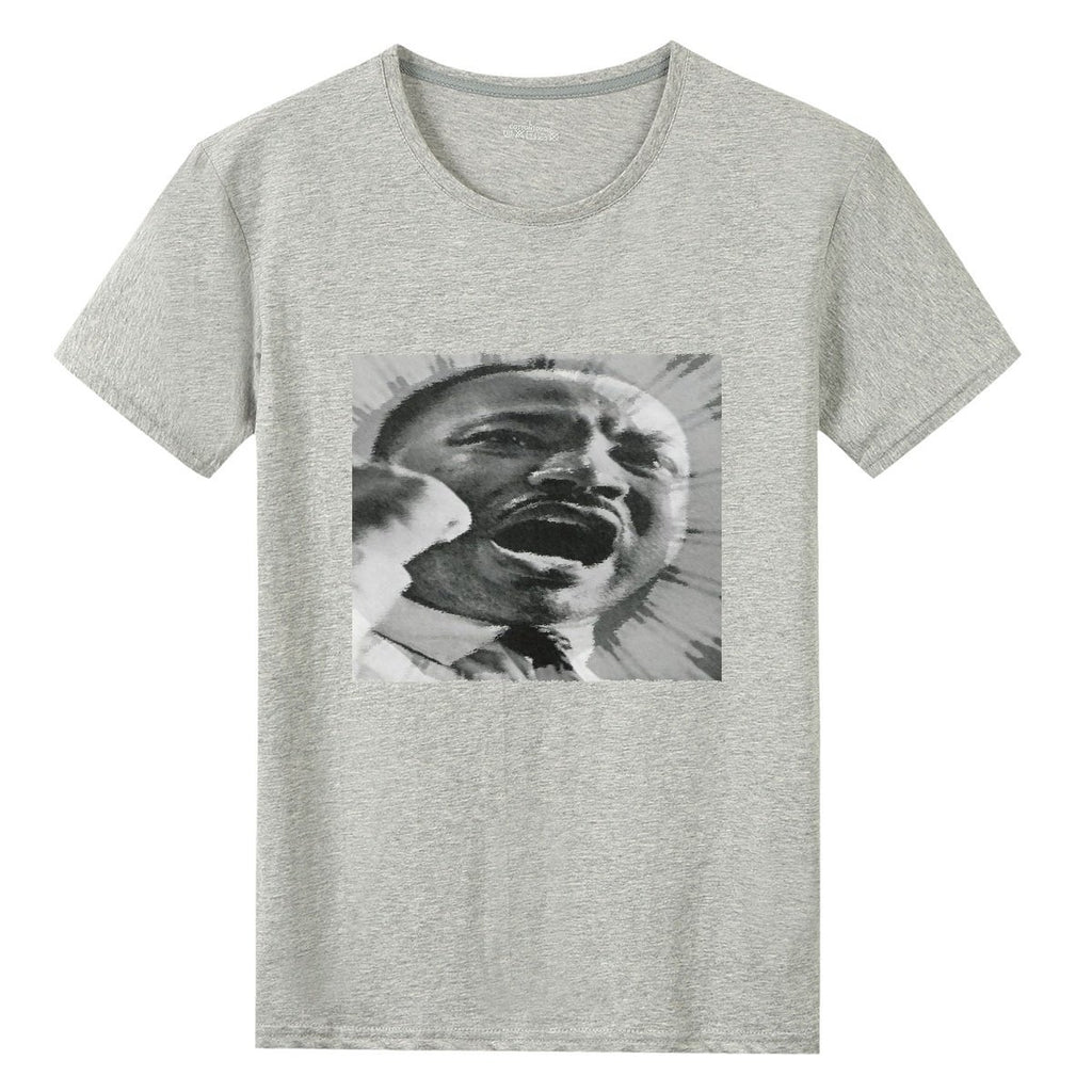 UNISEX - Gildan 76000 Cotton T-shirts - Dr. Martin Luther King Jr. - 'I have a Dream' fiery speech in 1963 in WA DC - Yunque Store