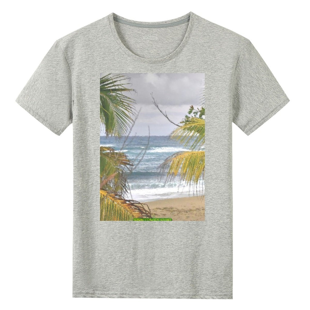 UNISEX Gildan 76000 Cotton T-shirts - Isabela beach Hau resort and Boardwalk - 🌴🌴 AWESOME World Class Beaches of Puerto Rico 😎 - Yunque Store