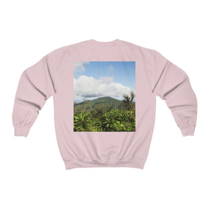 Unisex Heavy Blend™ Crewneck Sweatshirt - Views of El Yunque rain forest Puerto Rico Sweatshirt Printify