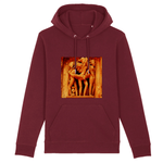 UNISEX ORGANIC HOODIE - CRUISER - Ancient Sacred Tantric Temples of India - Were Love is a Gift from the Gods - Yunque Store