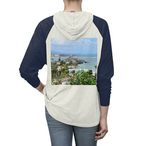 Unisex Tri-Blend Hoodie - Beach and Coast - Palmas del Mar Housing complex - Puerto Rico Long-sleeve Printify