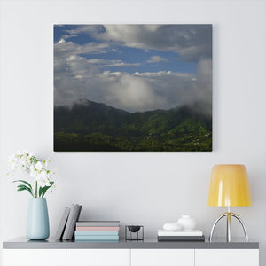 US Made - Canvas Gallery Wraps - Awesome view from PR 143 the top road in PR after rain - Near Toro Negro rainforest at 4,000 feet altitude - Puerto Rico - Yunque Store