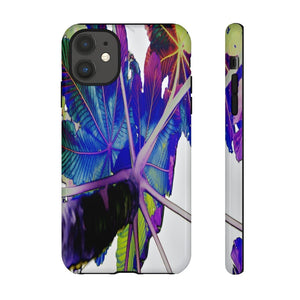 US MADE - IPHONE Tough Cases - Yagrumo Tree and Leafs - El Yunque Rainforest PR - Alien Vision 👽 - Yunque Store