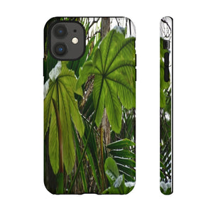 US MADE - IPHONE Tough Cases - Yagrumo Tree and Leafs - El Yunque Rainforest PR - Human Vision 👩‍🦰 - Yunque Store