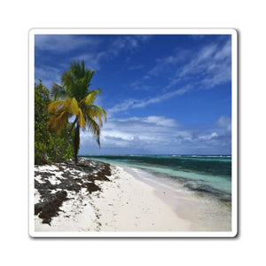 US Made - Magnets - Awesome world-class beaches of Puerto Rico - MONA Island Pajaros beach 🌊🌴🌊 - Yunque Store