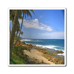 US Made - Magnets - Awesome world-class beaches of Puerto Rico - near Arecibo 🌊🌴🌊 - Yunque Store