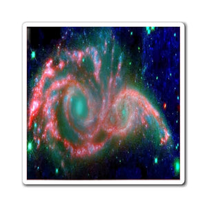 US Made - Magnets - for a Astro@Home experience - HUBLE/NASA Galaxy collision - there will be blood... - Yunque Store
