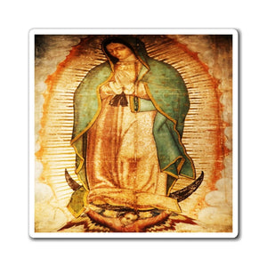US Made - Magnets - for Christians to Remember our Saints and History -- for a BLESSED Home - Our Lady of Guadalupe - Yunque Store